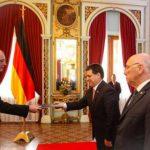 Deutscher Botschafter übergibt Beglaubigungsschreiben an Cartes