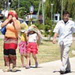 Hitzewelle mit fast 40 °C im Chaco, ab Montag starke Regenfälle