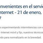 Tigo meldet Probleme beim Internet