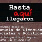 Demonstration gegen das diktatorische Modell in Paraguay
