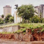 Schutzmauer unter Erdreich gefunden