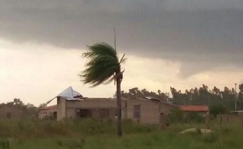 Unwetterfront in Paraguay erwartet, auch der ganze Chaco wird betroffen sein