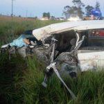 Schwerer Verkehrsunfall auf der Ruta II