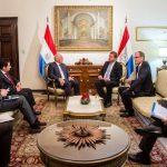 Lateinamerika-Beauftragter aus Deutschland trifft auf paraguayischen Außenminister