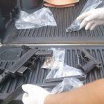 Räuber des deutschen Paars von Polizei getötet