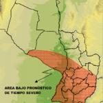 Unwetterfront erreicht Paraguay