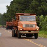 Langsamer Wiederaufbau der Kornkammer Route