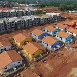 Wohnkomplex wächst nach Zeitplan