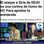 Angriff in Syrien mit Horacio Cartes in Verbindung gebracht