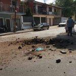 Eine Serie von Explosionen in der Hauptstadt