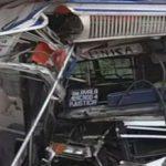 """""""Rennen"""" um Passagiere fordert vier Verletzte"""