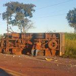 Alle Businsassen bei Unfall verletzt