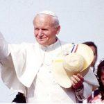 Das Reliquiar mit dem Blut von Papst Johannes Paul II in Paraguay