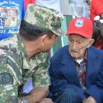 Der älteste Veteran in Concepción feiert den 107. Geburtstag