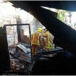 Nach Grillfeier Haus abgebrannt