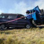 Rauchschwaden wegen Flächenbrand: Zwei Tote