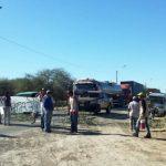 Hohe Maut im Chaco löst Straßensperre aus