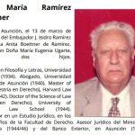 Ex Außenminister Ramírez Boettner gestorben