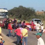 Transchaco Route gesperrt