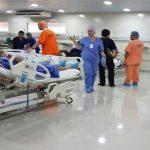 US-Ärzte führten 161 Operationen durch