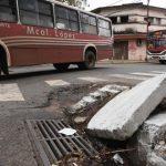 """Mit Schlaglöchern und kaputten Straßen """"feiert"""" Asunción"""