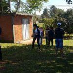 Tod beim Brennholz aufbereiten in Obligado