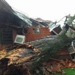 Unwetter richtete Schaden in deutschem Klub an