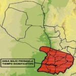 Aktuelle Unwettervorhersage der Meteorologiebehörde
