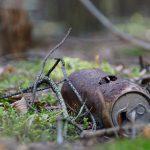 Überwachungskamera filmt Umweltsünder