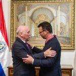 Verdienstorden aus Paraguay verliehen