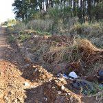 Die Straße der pathologischen Abfälle