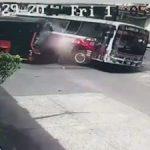 Busfahrer und zweijähriges Kind sterben bei Verkehrsunfall