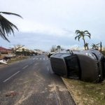 Hurrikan Schrott-Autos kommen nach Paraguay