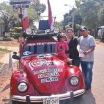Das kleinste Wohnmobil der Welt in Paraguay