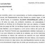 Für 20.000 Guaranies an den Pranger gestellt