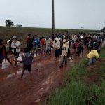 Indigene von Mennoniten Grundstück in Bergthal vertrieben