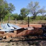 Seltsamer Brand auf einer Estancia im Chaco
