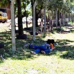 Kinderarbeit auf einer Müllkippe