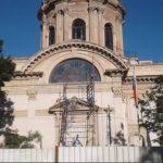 Zwei Arbeiter verunfallen am Pantheon