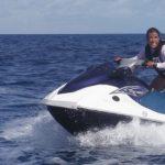 Eine Paraguayerin als Rettungsschwimmerin
