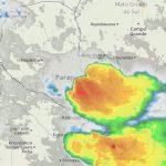 Schwere Unwetter über Paraguay prognostiziert