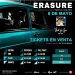 Erasure kommt nach Paraguay