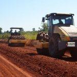 Ein Straßenbauprojekt schreitet erstaunlich schnell voran