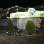 Eine Pizzeria wird zum Schauplatz einer Attacke
