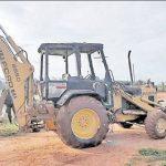 Lösegeld für Traktor gefordert