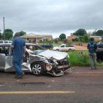 Mennoniten: Drei Schwerverletzte nach Forntalcrash