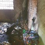 Wunderkerzen setzen Haus in Brand