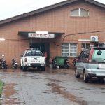 Blitz schlägt in Polizeistation ein