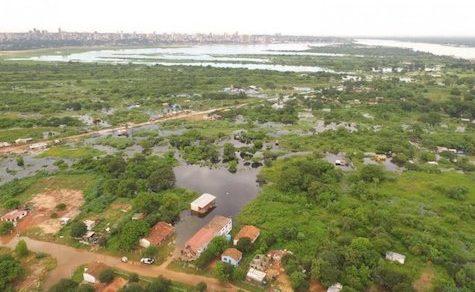 Untypisches Hochwasser für diese Jahreszeit