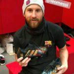 Lionel Messi und sein neues Schuhwerk